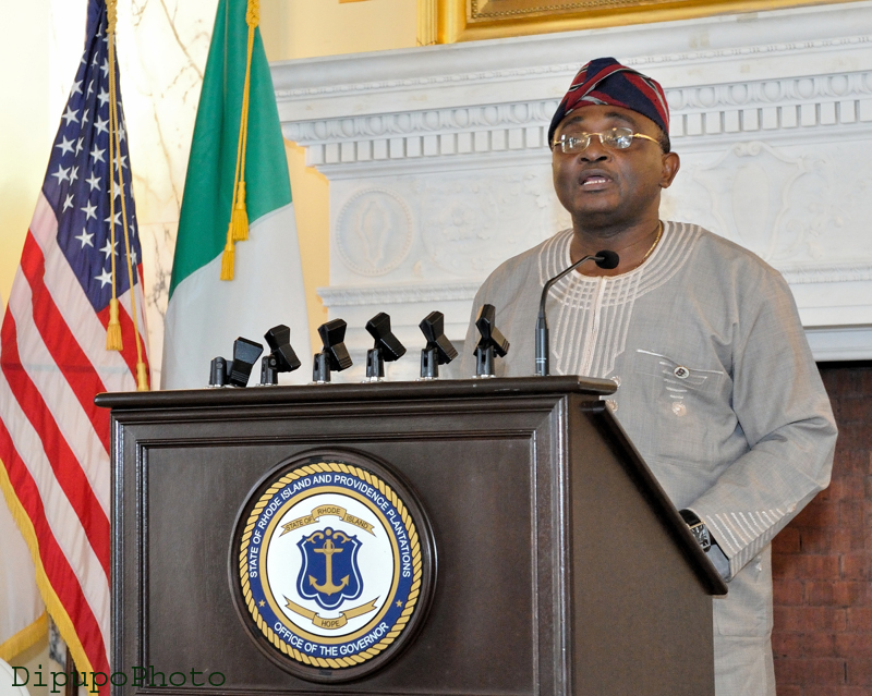 Rhode Island; Yoruba elders keynote addressI 2013