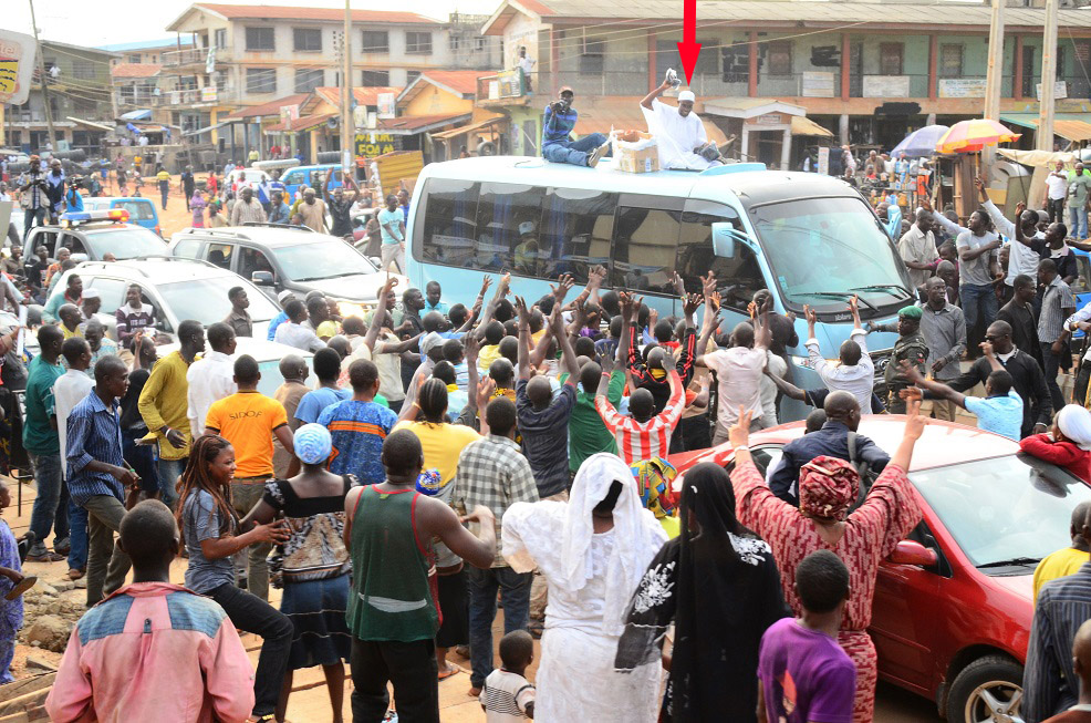Reactions in Ajegunle -  (2)