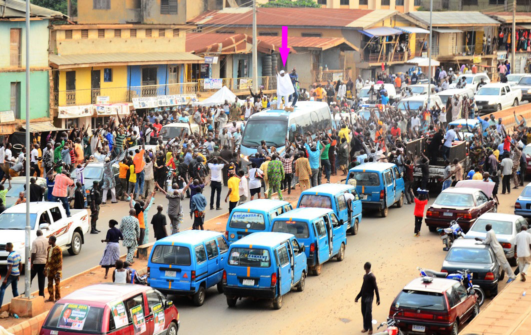 Reactions in Ajegunle -  (3)