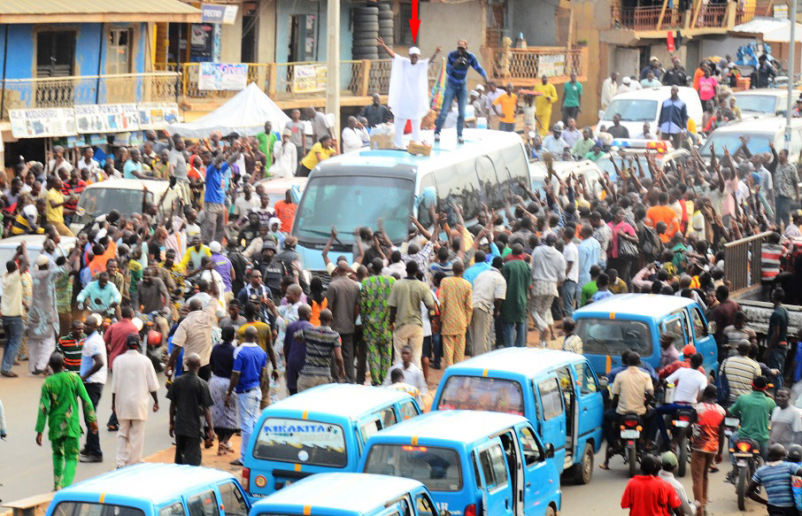 Reactions in Ajegunle -  (4)