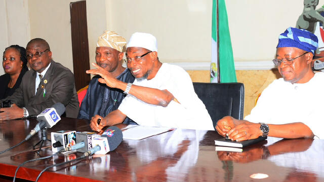 Signing of Osun Procurement Law 1