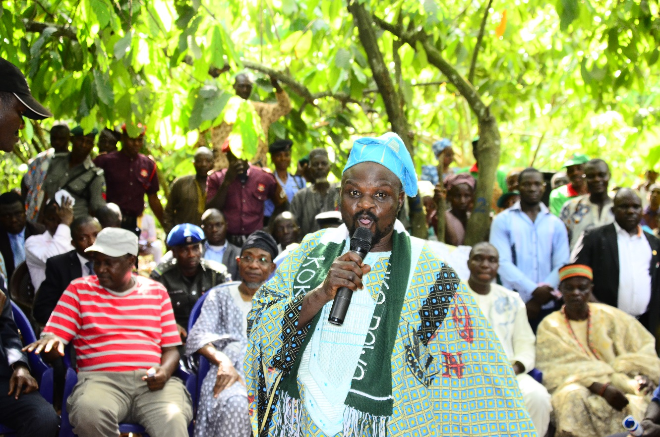 "Chairman of the "" Agbedowo"" association thanked the government for its support for agriculture"