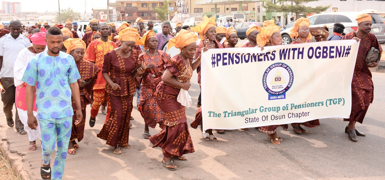 Pensioners with Ogbeni 3